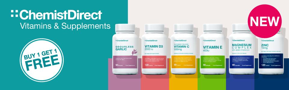NEW: Chemist Direct Vitamins