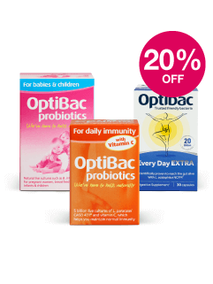 Save 20% on Optibac