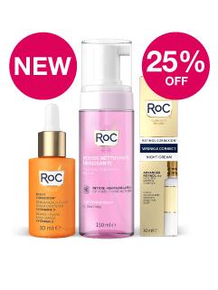 NEW- Save 25% on RoC Skincare