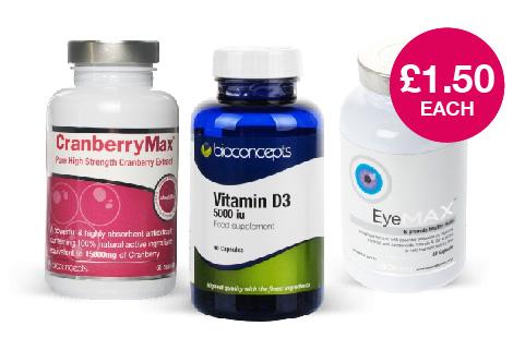 Chemist Direct Vitamins Clearance all £1.50