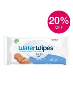 Save 20% on Waterwipes
