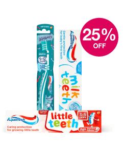 Save 25% on Aquafresh Kids