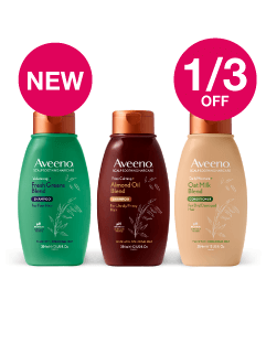 NEW - Save 1/3 on Aveeno Scalp Soothing Haircare