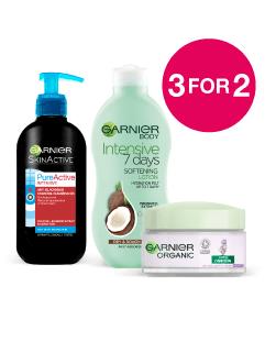 3 for 2 on Garnier Skincare