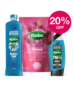 Save 20% on Radox