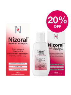 Save 20% on Nizoral