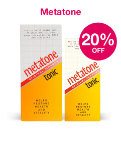Metatone save 20%