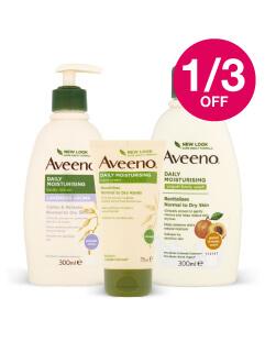 Save 1/3 on Aveeno