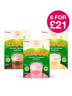 6 for £21 on Complan