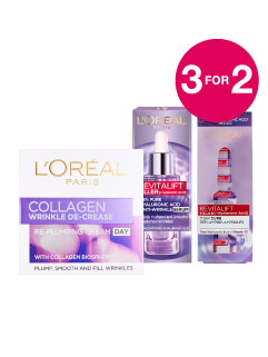 3 for 2 on L'Oreal Skincare