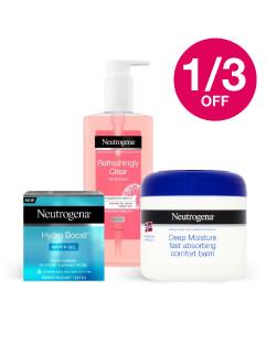Save 1/3 on Neutrogena