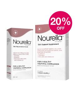 Save 20% on Nourella