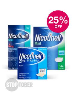 Nicotinell save 25%