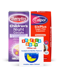 Kids cough, cold and flu