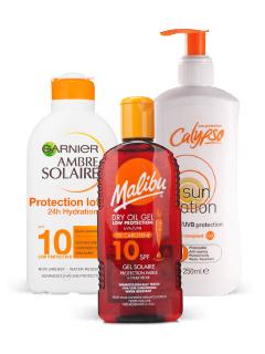 SPF4 - SPF 10 Sun Protection