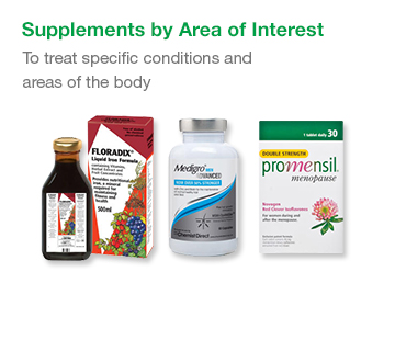 Supplements by Area of Interest