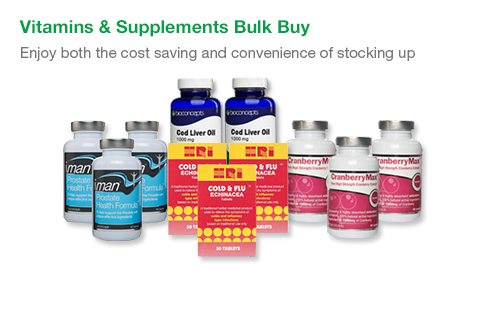 Buy Vitamins and Minerals | Supplements Online | Chemist Direct