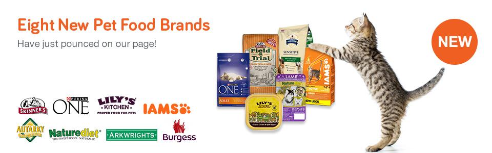 New Pet Food Brands
