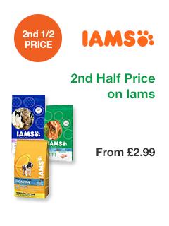 2nd Half Price on Iams