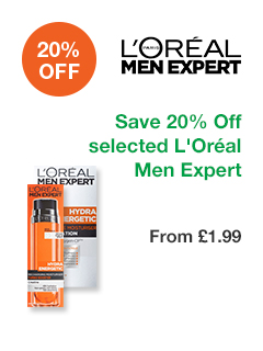 Save 20% off selected L'Oréal Men Expert