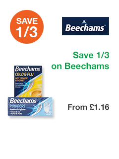 Save 1/3 on Beechams