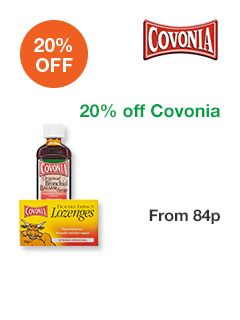20% off Covonia