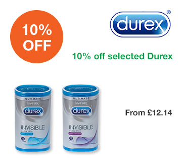 10% off selected Durex