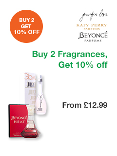 Buy 2 Fragrances, Get 10% off
