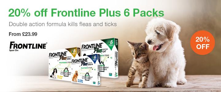 Buy Frontline Plus For Dogs Online Uk