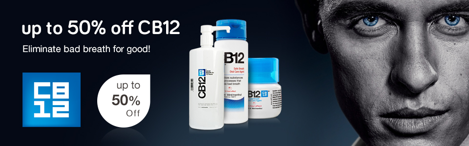 Up to 50% off CB12