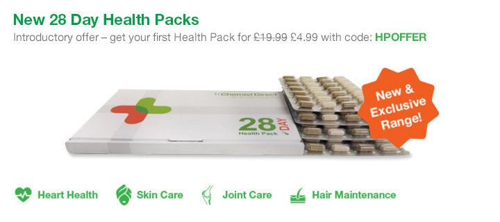 New 28 Day Health Pack