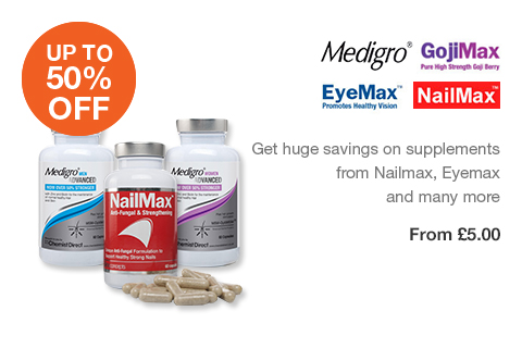 Up to 50% OFF Supplements