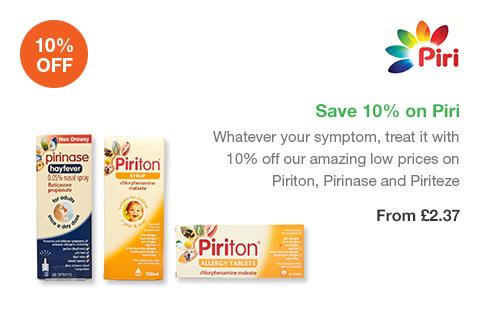 Save 10% on Piri