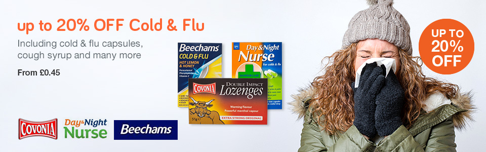 20% OFF Cold & Flu
