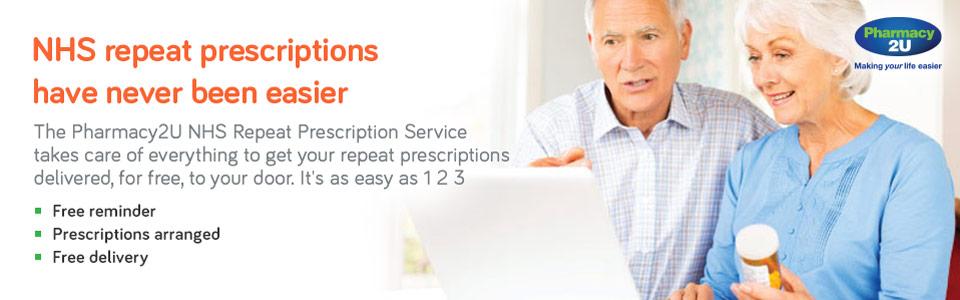 NHS Repeat Prescriptions