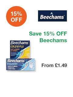 Save 15% OFF Beechams