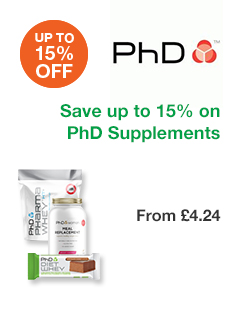 15% OFF PhD Supplements