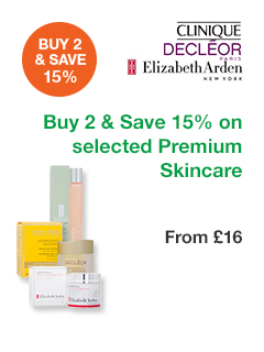 Buy 2 and Save 15% on selected Premium Skincare