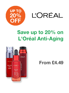 Save up to 20% on L'Or�al Anti-Ageing