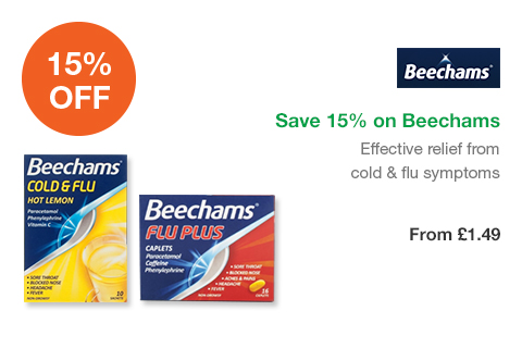 Save 15% on Beechams
