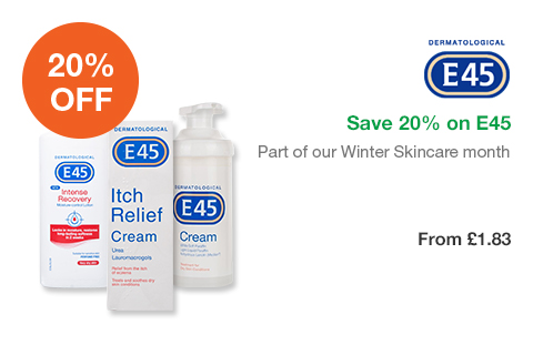 Save 20% on E45
