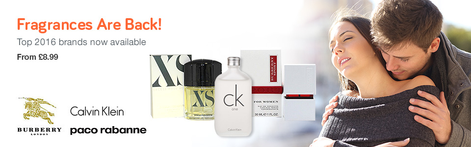 Fragrances Are Back!