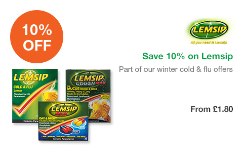 Save 10% on Lemsip