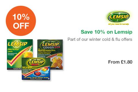 Save 10% on Lemsip