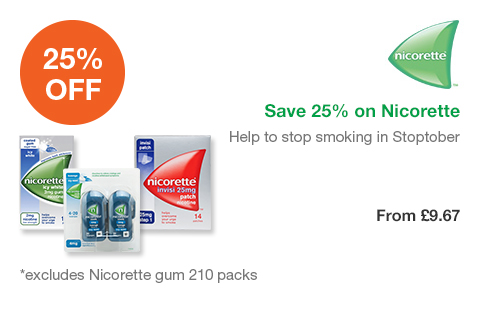 Save 25% on Nicorette