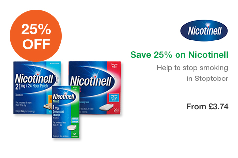 Save 25% on Nicotinell