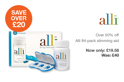 Save pounds on Alli