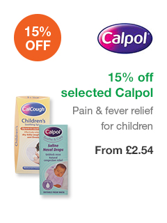 15% off selected Calpol