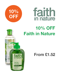 10% OFF Faith in Nature