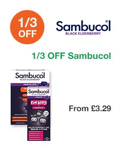 1/3 OFF Sambucol